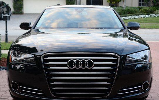 Ultimativ luksus med en Audi A8